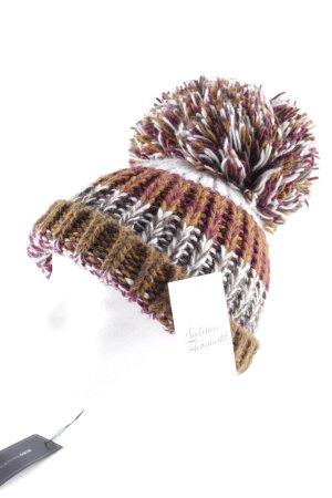 BCBG Maxazria Cappello a maglia multicolore stile casual