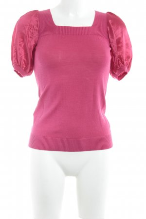 BCBG Maxazria Strickshirt magenta Elegant