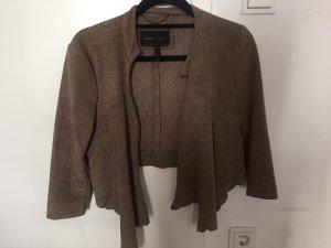 BCBG MAXAZRIA suede cropped Jacket (size XS)