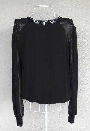 BCBG Maxazria Sweatshirt schwarz Gr.XS