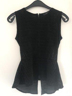 BCBG Maxazria Mouwloze blouse zwart