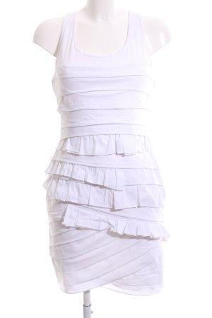 BCBG Maxazria Trägerkleid weiß Elegant