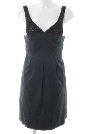 BCBG Maxazria Trägerkleid schwarz Elegant