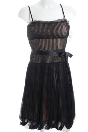 BCBG Maxazria Trägerkleid schwarz-nude Elegant