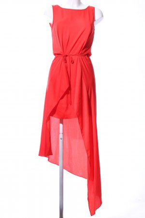 BCBG Maxazria High Low Dress red elegant