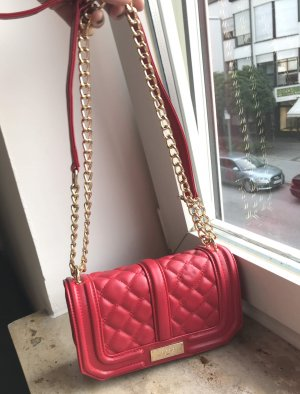 BCBG Crossbody bag red imitation leather