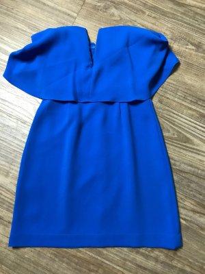 BCBG Maxazria Haut type corsage bleu polyester
