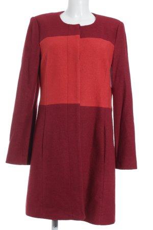 BCBG Veste en laine rouge-rouge foncé style extravagant