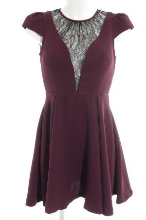 BCBGeneration A-Linien Kleid purpur-schwarz Elegant