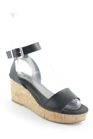 BCBGeneration Sandalo con cinturino nero stile casual
