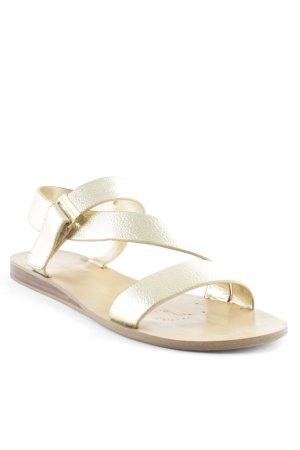 BCBGeneration Romeinse sandalen goud Beach-look