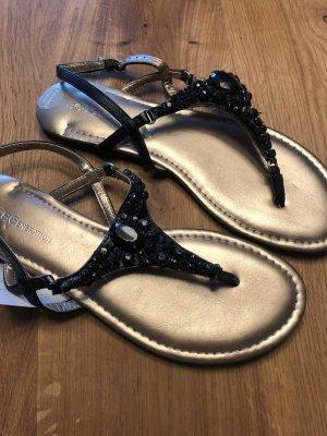 BCBGeneration Toe-Post sandals black