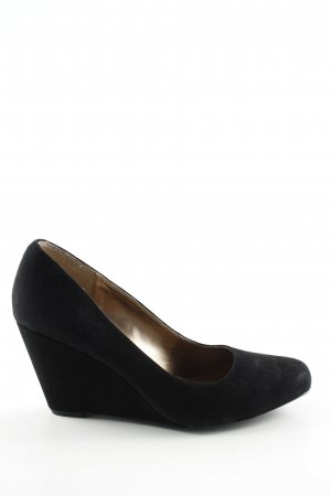 BCBGeneration Wedges Sandaletten schwarz Business-Look
