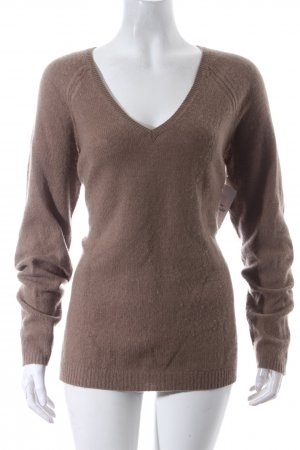 BCBGMaxazria Cashmere Jumper light brown simple style