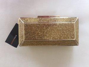 BCBGMaxazria Clutch gold elegant