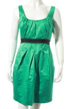 BCBG Maxazria Etuikleid grün-schwarz Party-Look