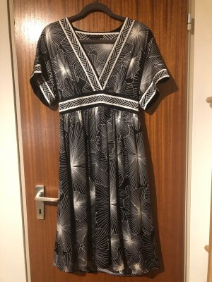 BCBG Maxazria Robe empire multicolore