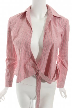 BCBGMaxazria Wraparound Blouse striped pattern casual look