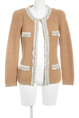 bdba Strickjacke orange Casual-Look