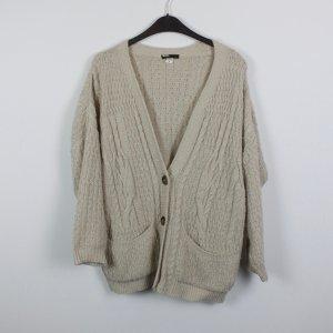 BDG Cardigan tricotés beige-crème tissu mixte