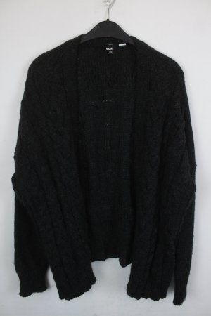 BDG Cárdigan gris antracita-negro Acrílico