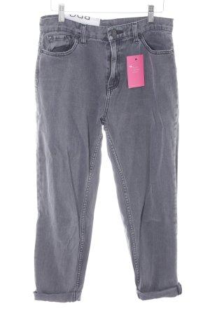 BDG Hoge taille jeans grijs-donkergrijs casual uitstraling