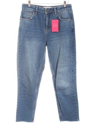 BDG Hoge taille jeans leigrijs Jeans-look