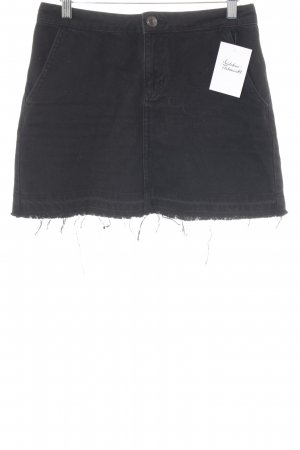 BDG High Waist Rock schwarz Casual-Look