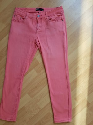BDG Straight Leg Jeans bright red