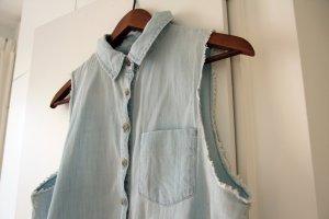 BDG. Jeans-Weste mit Knoten