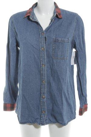 BDG Denim Shirt check pattern boyfriend style