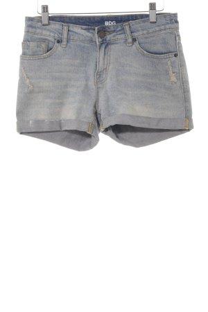 BDG Short en jean gris ardoise style décontracté