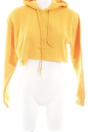BDG Pull à capuche orange clair style décontracté