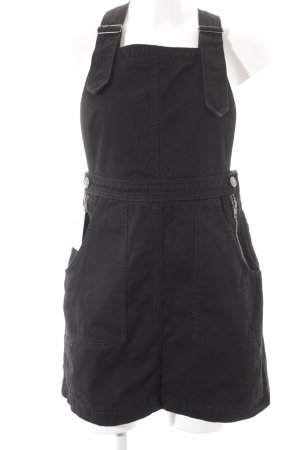 BDG Pinafore Overall Skirt black rockabilly style