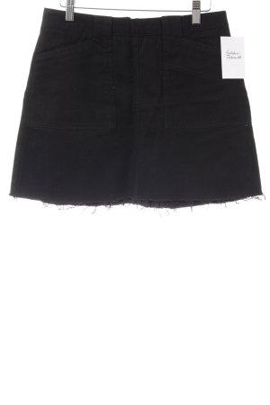 BDG Mini-jupe noir style décontracté