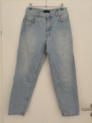 Urban Outfitters Jeans carotte bleu azur