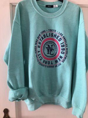 BDG Crewneck Sweater turquoise-light blue