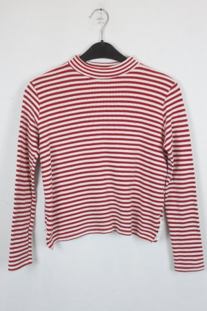 BDG Knitted Sweater white-red cotton
