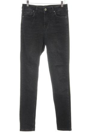 BDG Skinny Jeans dunkelgrau Casual-Look