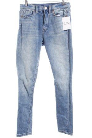 BDG Skinny Jeans himmelblau Casual-Look