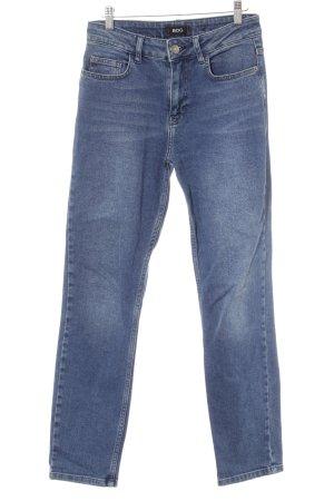 BDG Slim Jeans stahlblau Casual-Look