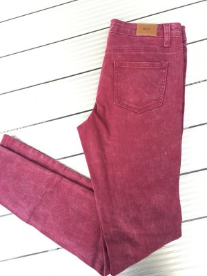 BDG Five-Pocket Trousers purple cotton