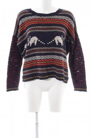 BDG Strickpullover Animalmuster Casual-Look
