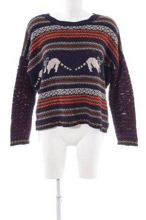 BDG Maglione lavorato a maglia motivo animale stile casual
