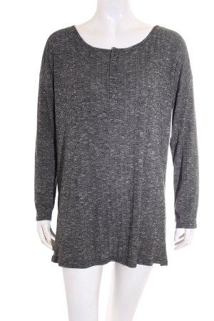 BDG Camicia maglia nero-grigio stile casual