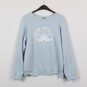 BDG Sweatshirt Gr. S blau oversized (18/10/444/K)