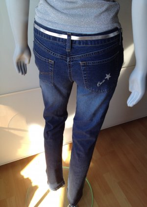 Be a star! edc by ESPRIT Jeans-Stretchhose Gr. 34, Länge 32