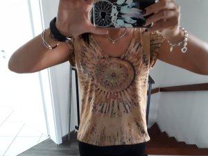 Be.fun Top batik brun sable-marron clair