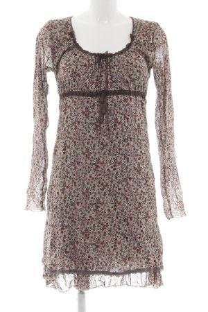Be Tween Longsleeve Dress allover print casual look