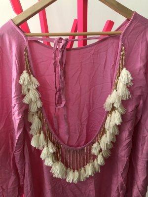 Sundress Vestido Hippie rosa